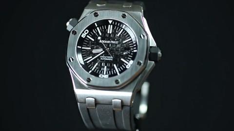 20万人民币就是这么被花出去的,一块爱彼手表的制作工序