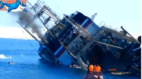 【沉船事故】看看过去发生的那些轮船倾覆事故.........