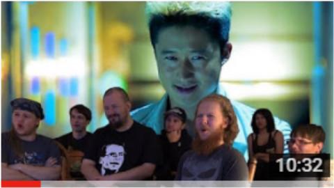 老外看杀破狼吴京与甄子丹打斗戏决定要去看战狼2的首映