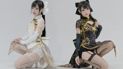 【咬人猫x咬人喵】桃源恋歌❤️我爱你(⁎⁍̴̛ᴗ⁍̴̛⁎)我的姐姐不可能这么可爱!
