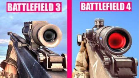 【枪声对比】战地4 VS 战地3