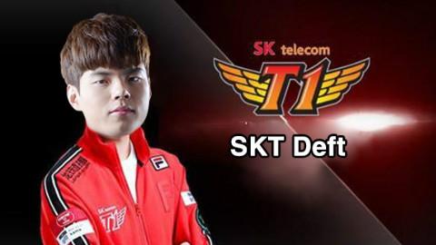 SKT总决赛之旅第三站:SKT Deft强势凯瑞 SKT vs KT(中文解说)全场高光集锦