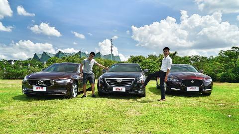新车评let s购:凯迪拉克CT6、沃尔沃S90L、捷豹XFL横评