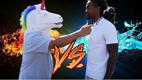 """【毒角SHOW】角角街头diss美国rapper,让你们知道什么叫""""中国有嘻哈""""!"""