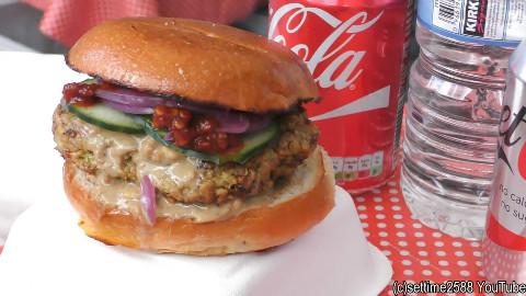【伦敦街头小吃】沙爹鸡肉,扁豆糊三明治,