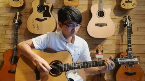 一首不错的指弹吉他曲《黄昏》,把好听的音乐分享给大家