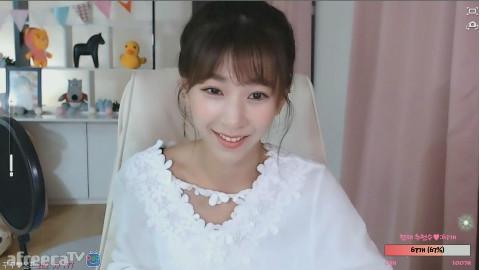 无意中发现的韩国女主播