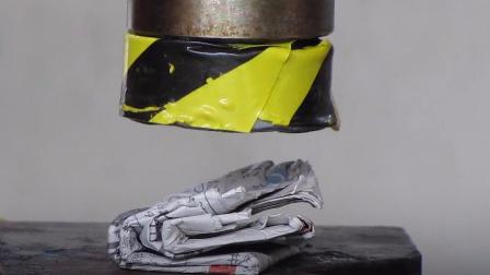 一张纸最多只能对折7次,液压机表示不信,结果呢?