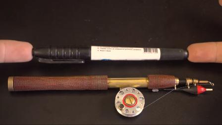 看老师傅如何用车床制作一套鱼竿,成品可以说惊艳众人!