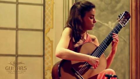 吉他翻弹:Ana Vidovic plays Asturias by Isaac Albéniz