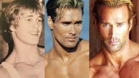 一直很帅很美型!大力王从13岁到48岁的转变|健身健美视频