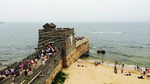 世界七大奇迹之首,中国最让外国惊叹的长城,其尽头居然在大海上