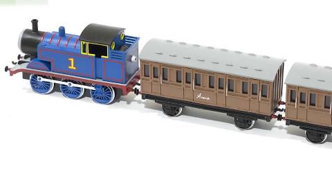 动手能力MAX!3D打印了一个小火车!