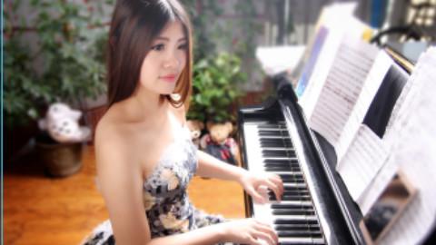 【钢琴】【器乐】【独奏】【巧奇】灌篮高手之好想大声说爱你+直到世界的尽头