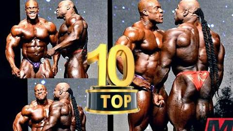 Top 10 奥林匹亚十大巅峰对决 精彩绝伦