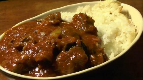 [下酒菜の旅人] 电饭锅做的牛筋咖喱!【只要有北斋和饭①】