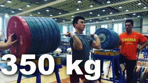 中国举重运动员如何训练? +陆小军,田涛&廖辉  奥运举重训练  