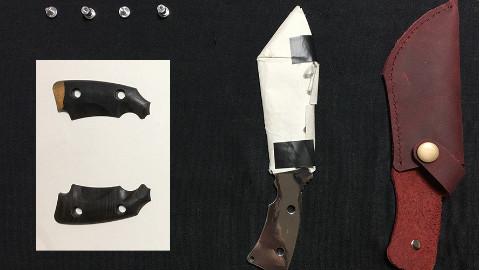 【极客匠】技术宅为小姐姐打造了一把实用又炫酷小刀