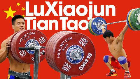 吕小军&田涛训练视频 于 2015世界举重锦标赛