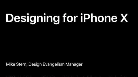 iPhone X 如何设计