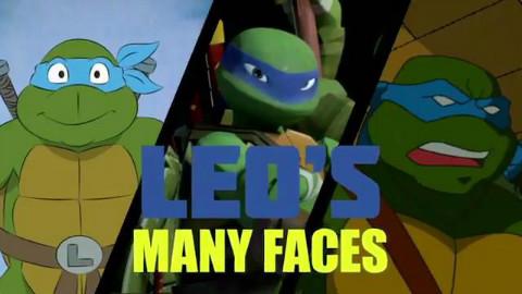 忍者神龟The Many Faces of TMNT 04:Leo s Many Faces