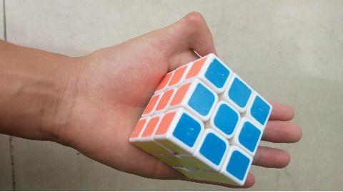 魔方还原魔术揭秘,只需要1秒钟,真相这么简单,一学就会!