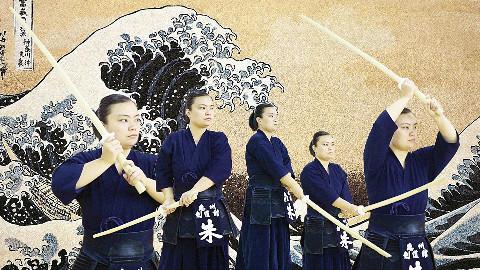 剑道的五行持剑架势展示,你喜欢哪种?