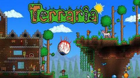 【薰风】《泰拉瑞亚》Terraria 实况攻略P2  探索制作工具钓鱼
