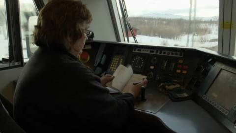世界功率最大火车头,由瑞典女司机驾驶