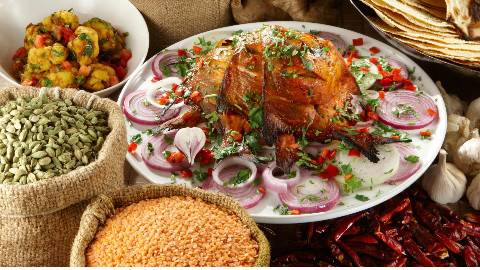 印度街头美食