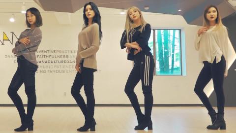 EXID 新曲 DDD 练习室舞蹈