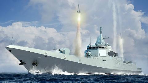 【点兵558】中国055驱逐舰有多先进?美国评估后赞叹,还要设计更强战舰