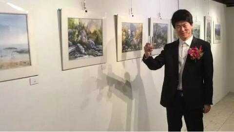 用艺术点缀生活,青岛,刘军墙绘作品欣赏