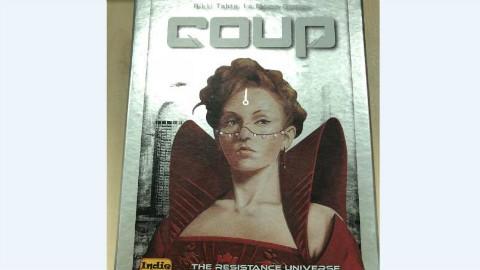 【新德里玩桌游】桌游《政变》(Coup)教学+实录(1P教学2P实录)