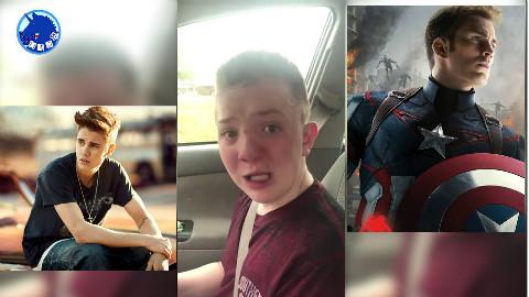 美国唐氏症男孩被霸凌,母亲拍视频引发全美震动。美队克里斯.埃文斯和贾斯丁比伯力挺声援
