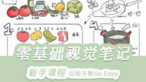 【全套】零基础学手账简笔画入门教程
