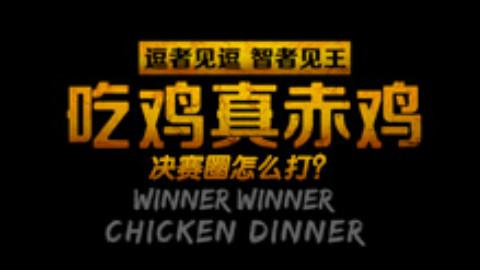【逗王】吃鸡真赤鸡10:决赛圈怎么打?