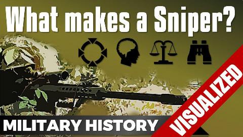【自制字幕】美军黑枪王都会什么?真正的狙击手怎样炼成?