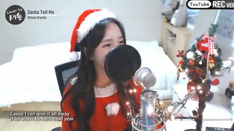 提前的圣诞~小姐姐唱圣诞曲给你们看
