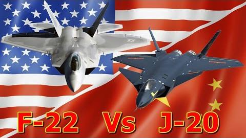 美国F22和中国J20对比