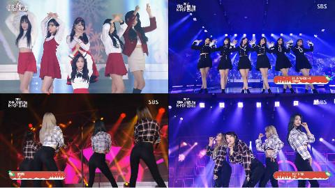 171225 GFriend+EXID Love Sharing K-Pop Concert