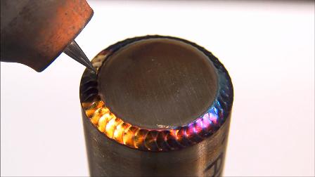 这才是我想要的,完美的鱼鳞焊,作为圣诞礼物再好不过了