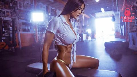 哥伦比亚完美身材美女Tatiana Ussa Girardi - CrossFit训练(训练动机)