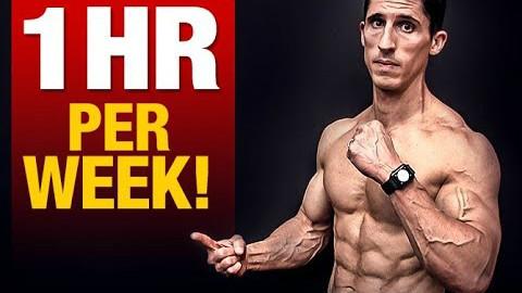 一周花一个小时的腹肌训练|健美健身励志视频