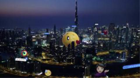中国各个主要城市夜景航拍