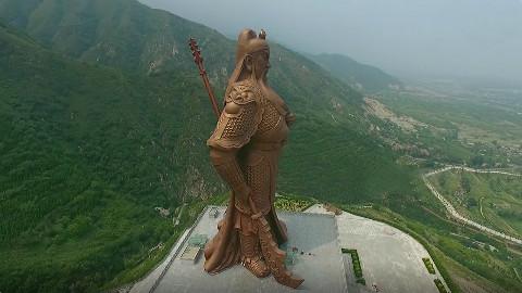 中国最牛的两座雕像:一座在山西,另一座位于四川
