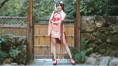 【啊飘】桃源恋歌—乐正绫旗袍cos