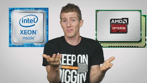 【官方双语】用服务器CPU玩游戏!有必要吗? #电子速谈