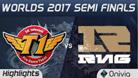 快速看完2017S7半决赛SKT VS RNG