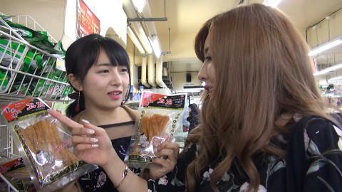 第一次见到辣条日本妹子的反应亮了【饭上东游食记15】